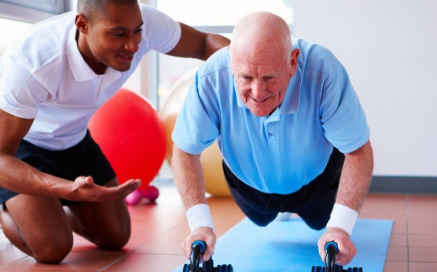 We can help you with exercise! Make sure you stay in shape.
