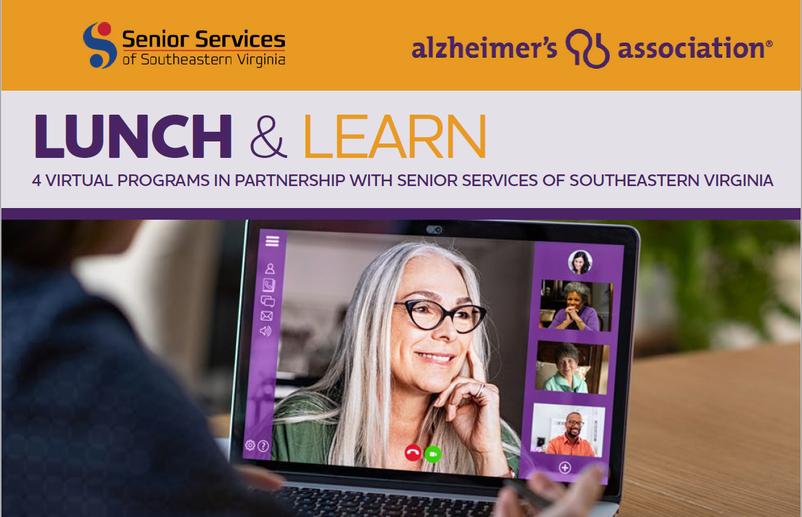 Lunch and Learn: 10 Warning Signs of Alzheimer's