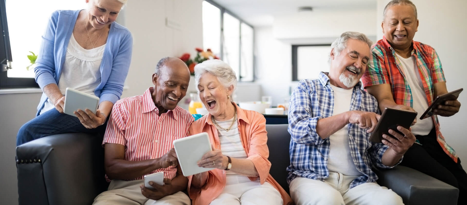 HealthWise Coaches Help Older Adults Use Technology to Connect With Family, Friends, and Healthcare