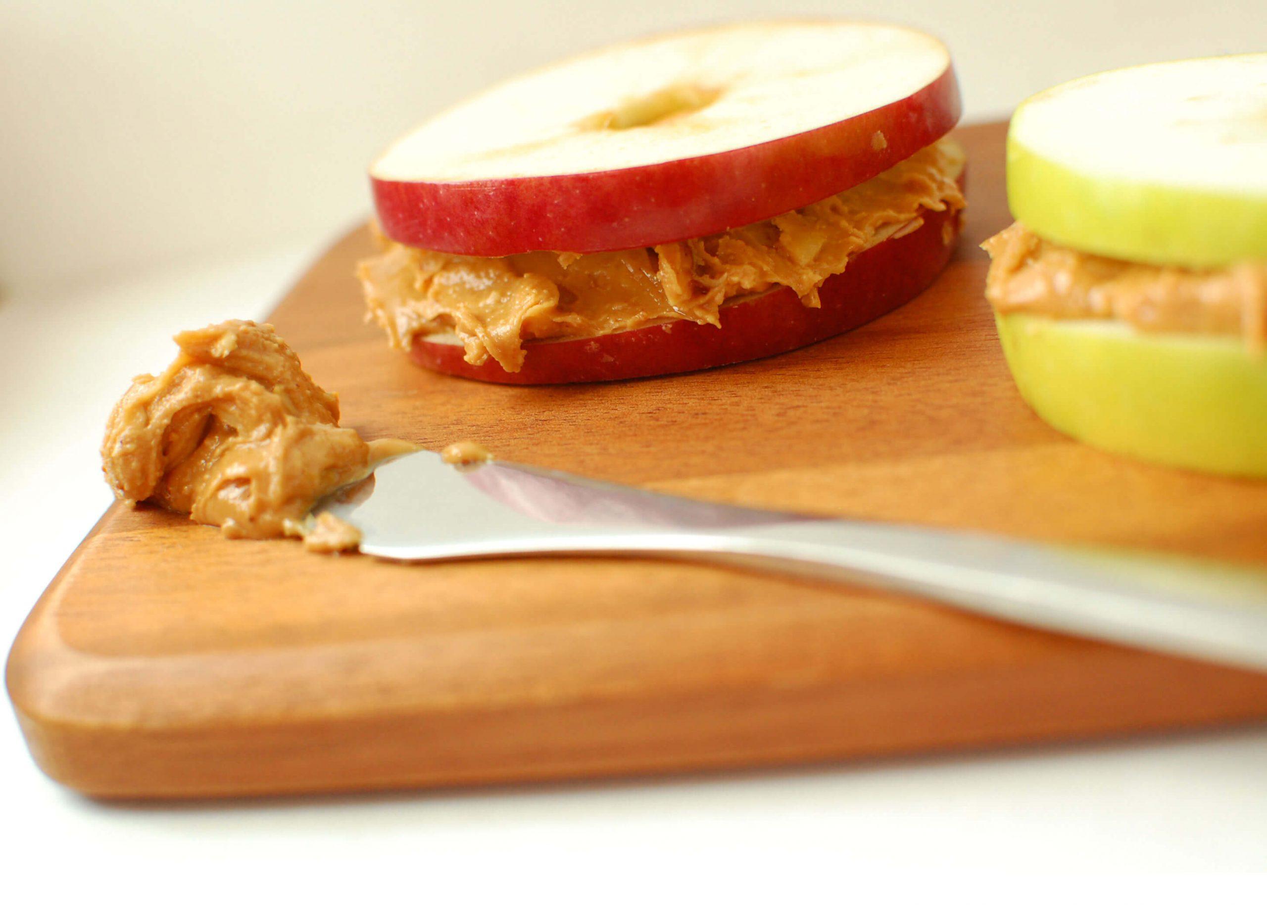 almond butter apple